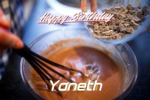 Happy Birthday Wishes for Yaneth