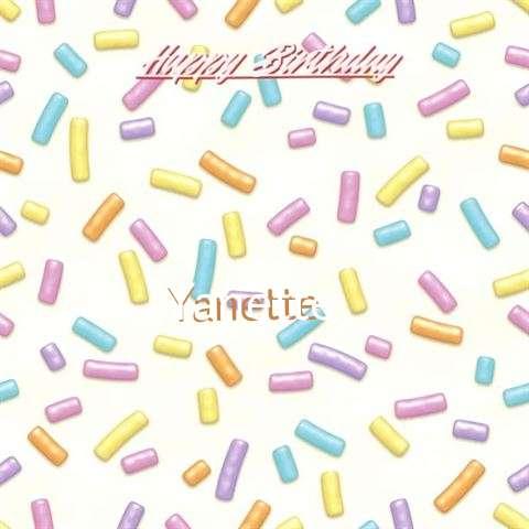 Birthday Images for Yanette