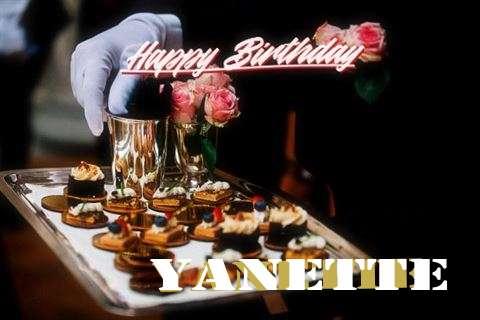 Happy Birthday Cake for Yanette