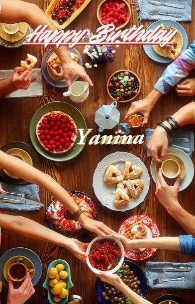 Birthday Images for Yanina