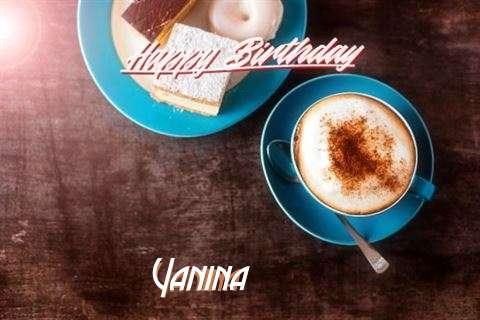 Happy Birthday to You Yanina