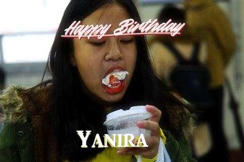 Birthday Wishes with Images of Yanira