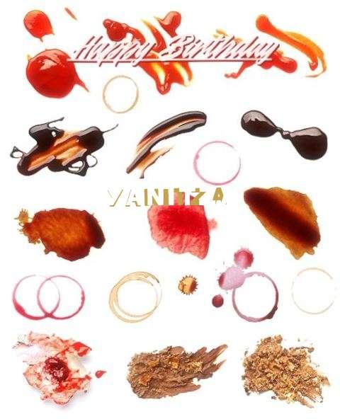 Birthday Wishes with Images of Yanitza