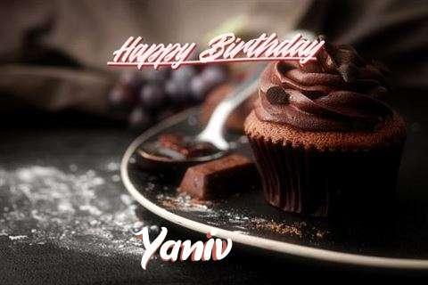 Happy Birthday Cake for Yaniv