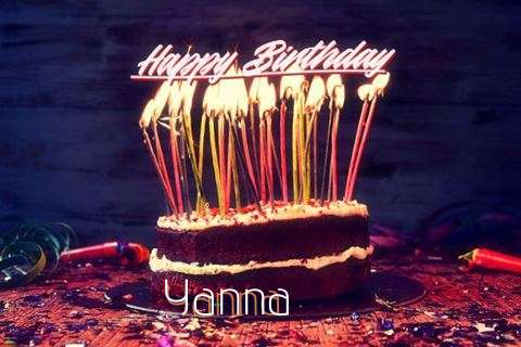 Happy Birthday to You Yanna