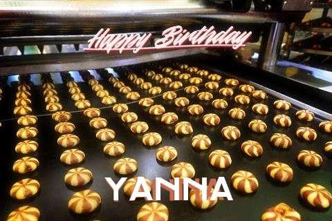Happy Birthday Cake for Yanna