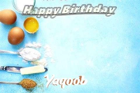 Happy Birthday Cake for Yaqoob