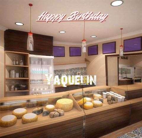Happy Birthday Yaquelin Cake Image