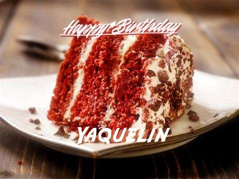 Happy Birthday to You Yaquelin