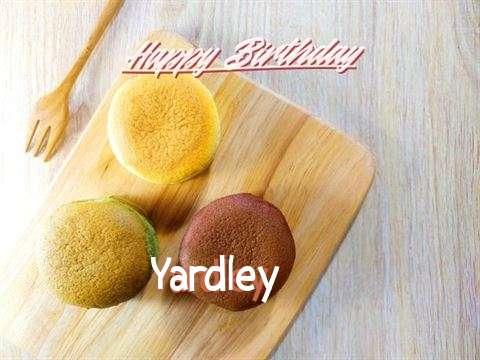 Happy Birthday Yardley
