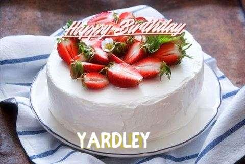 Happy Birthday Cake for Yardley
