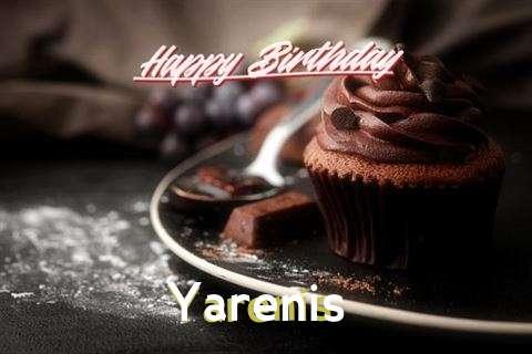 Happy Birthday Wishes for Yarenis