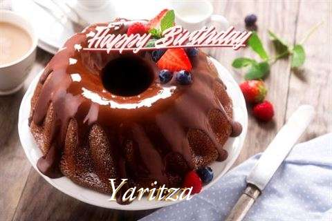 Happy Birthday Yaritza Cake Image