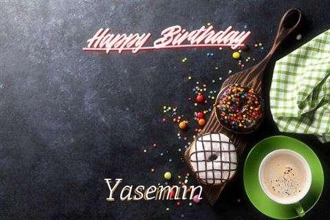 Happy Birthday Wishes for Yasemin