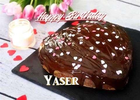 Happy Birthday Cake for Yaser