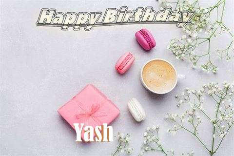 Happy Birthday Yash Cake Image