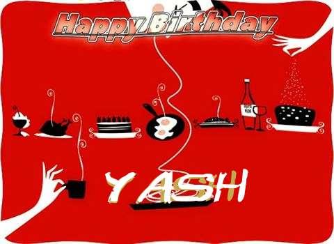 Happy Birthday Wishes for Yash