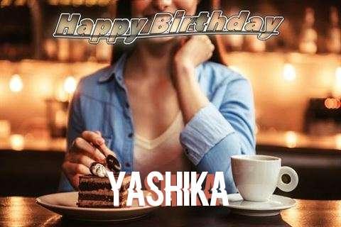 Happy Birthday Cake for Yashika