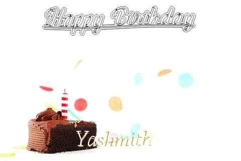 Happy Birthday Cake for Yashmith