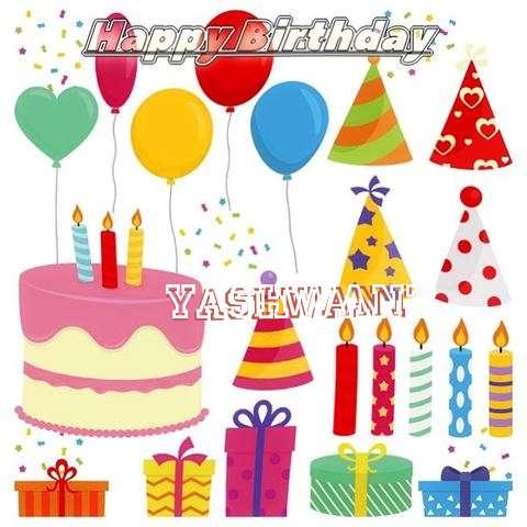 Happy Birthday Wishes for Yashwant