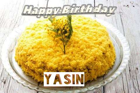 Happy Birthday Wishes for Yasin