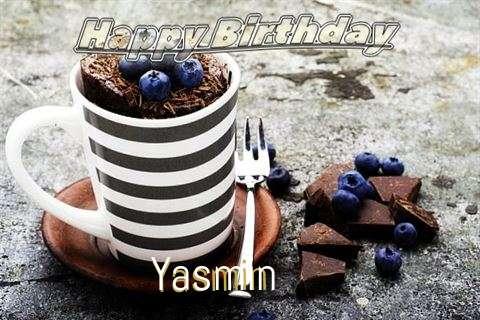 Happy Birthday Yasmin Cake Image