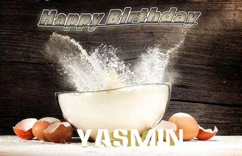 Happy Birthday Cake for Yasmin