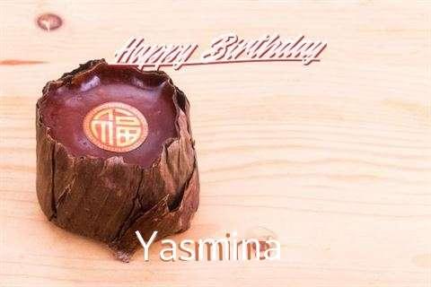Birthday Wishes with Images of Yasmina