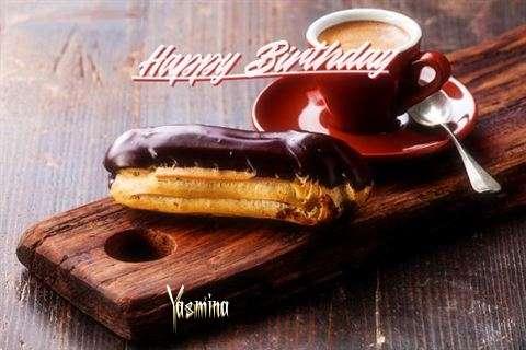 Happy Birthday Yasmina Cake Image