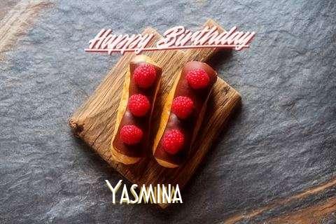 Happy Birthday to You Yasmina