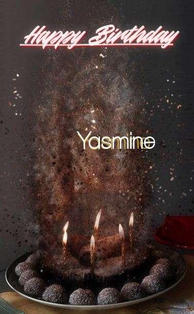 Happy Birthday Cake for Yasmine