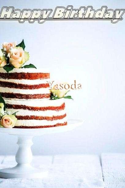 Happy Birthday Yasoda Cake Image