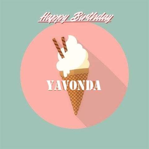 Happy Birthday Yavonda