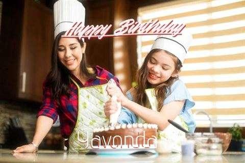 Birthday Wishes with Images of Yavonda
