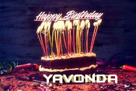 Happy Birthday to You Yavonda