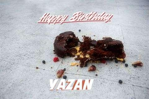 Happy Birthday Yazan