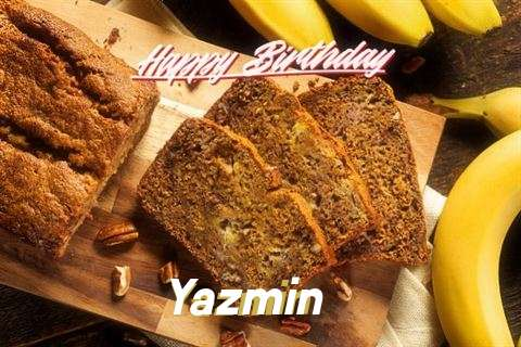 Happy Birthday Yazmin Cake Image
