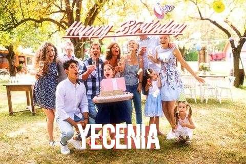 Happy Birthday Cake for Yecenia