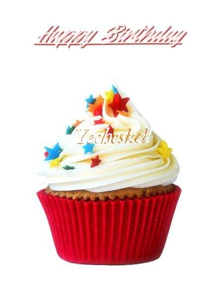 Happy Birthday Yecheskel Cake Image