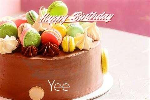 Happy Birthday Cake for Yee