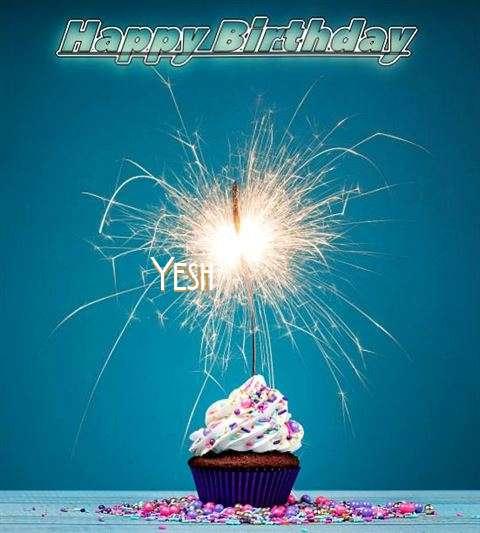 Happy Birthday Wishes for Yesh