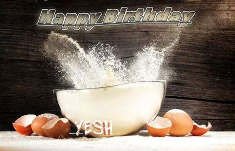 Happy Birthday Cake for Yesh