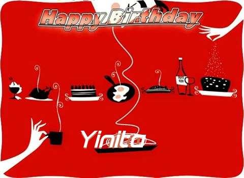 Happy Birthday Wishes for Yinita