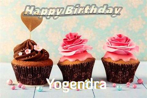 Happy Birthday Yogendra Cake Image