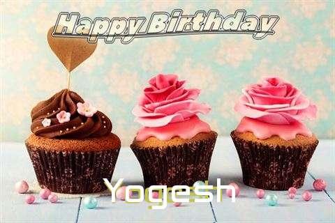 Happy Birthday Yogesh Cake Image