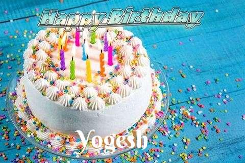 Happy Birthday Wishes for Yogesh