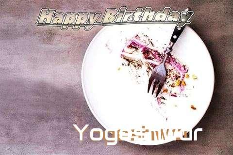 Happy Birthday Yogeshwar Cake Image