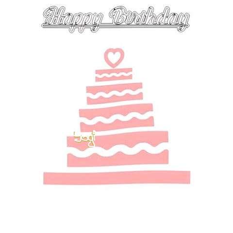 Happy Birthday Yogi Cake Image