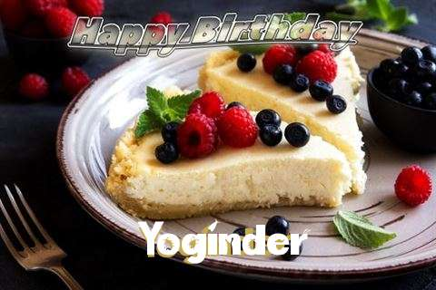Happy Birthday Wishes for Yoginder