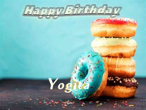 Birthday Wishes with Images of Yogita